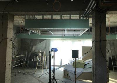 montáž sadrokartónových stropov