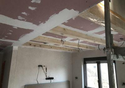 montáž sadrokartonových stropov